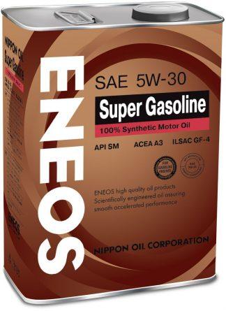 ENEOS SUPER GASOLINE 100% SYNTHETIC 5W-30 4л.
