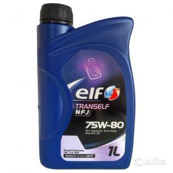 Elf TRANSELF NFJ 75W-80 1л