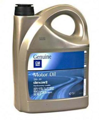 GM Dexos2 5W30 4л