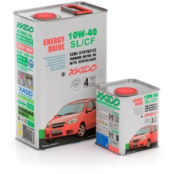 XADO ATOMIC OIL 10W-40 SL/CF 4л.