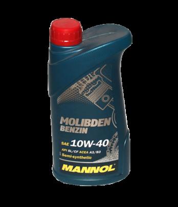 MANNOL Molibden Benzin 10W-40 1л