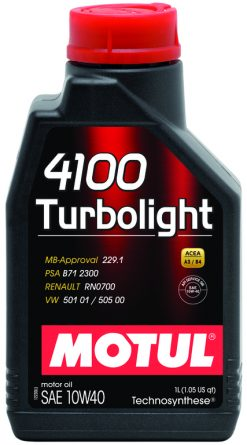 Motul 4100 TURBOLIGHT 10W40 1л
