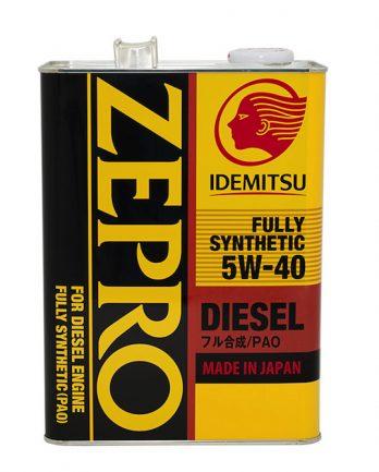 Idemitsu Zepro Diesel  5W-40 CF Fully Synthetic 4л