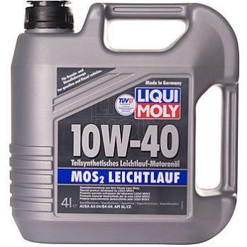 LIQUI MOLY  MoS2 Leichtlauf 10W-40 4 л