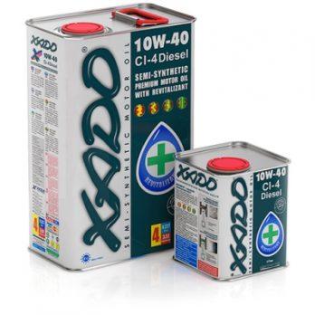 XADO Atomic Oil 10W-40 CI-4 Diesel 4л