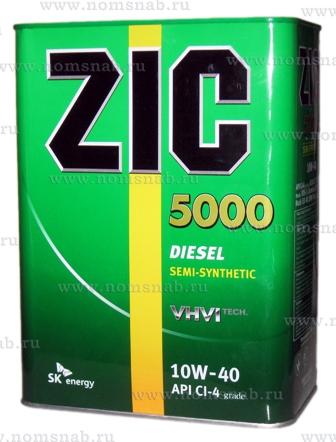ZIC X7 10w-40 DIESEL 4л