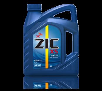 ZIC X 5  5w-30 4л